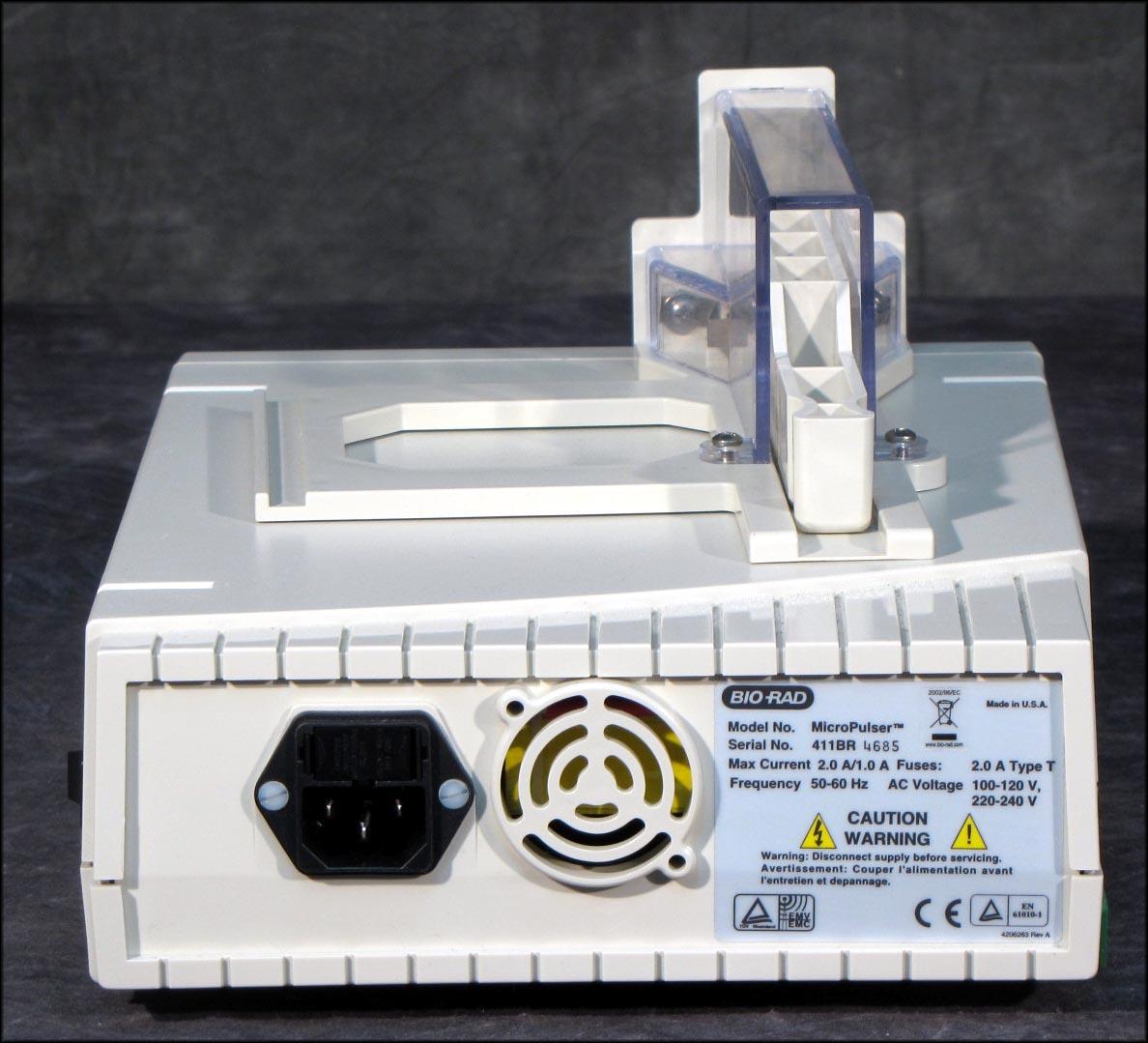 bio rad micropulser electroporator manual