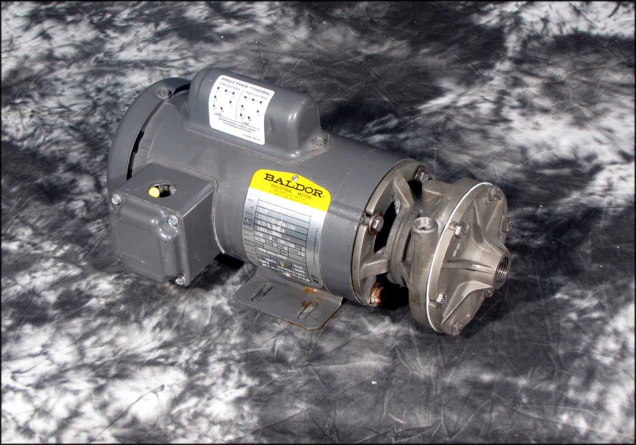 Baldor 1439 Motor 1 3hp W Price 3 4 X 1 2 Stainless